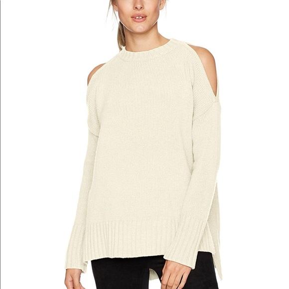 3c874e44473345 BCBGMaxAzria Sweaters   Cold Shoulder Sweater   Poshmark